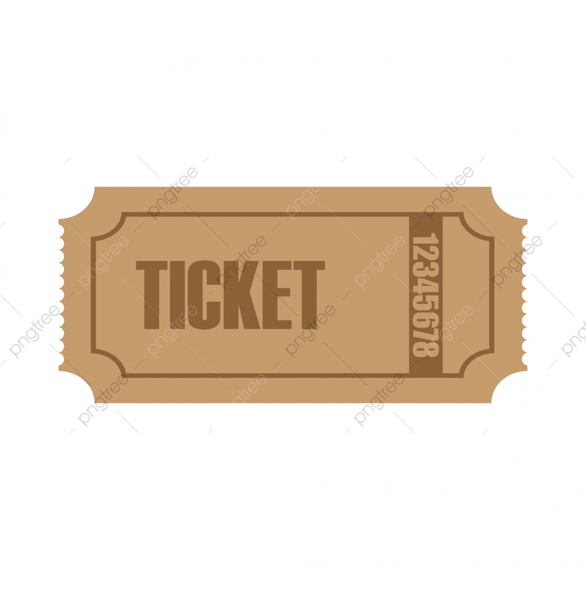 Ticket Logo Icon Design Template Vector Illustration, Symbol.