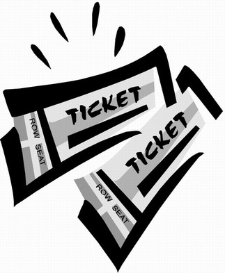 Generic ticket clip art free vector in open office drawing svg.