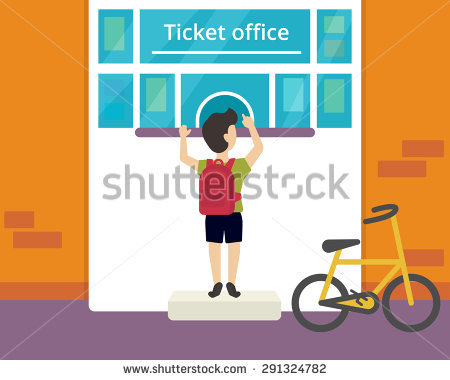 Ticket Office Stock Images, Royalty.