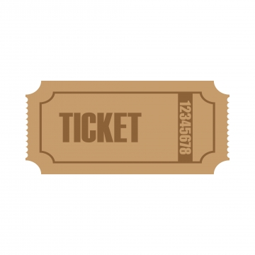 Ticket PNG Images.