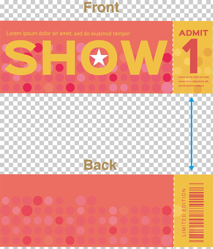 Paper Ticket Voucher Sales Logo, ticket stub PNG clipart.