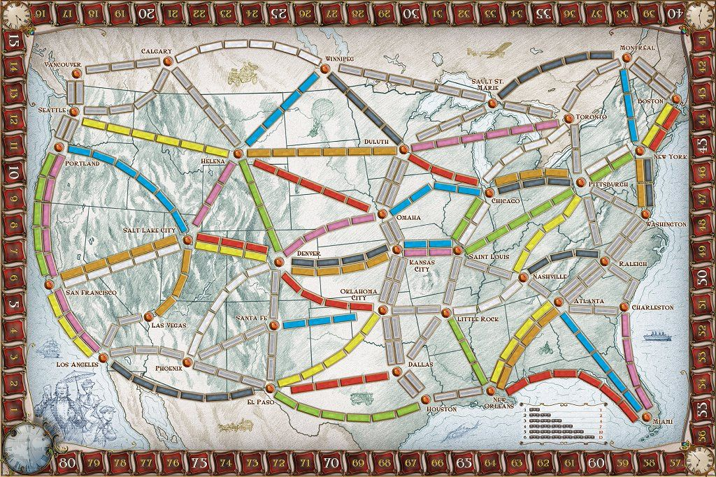 ticket to ride #8