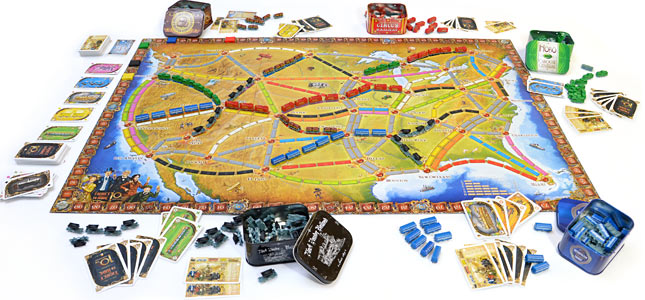 Ticket to Ride Review.