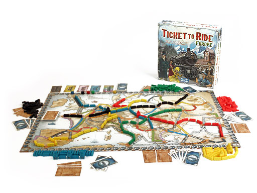 Ticket to Ride: Europe.
