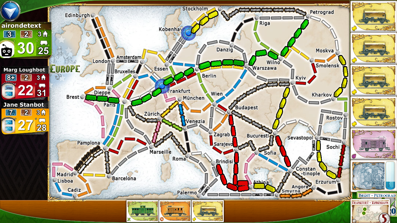 Ticket to Ride.