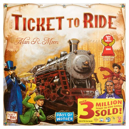 Days Of Wonder Ticket to Ride Boardgame 8+.
