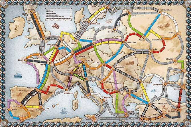 Amazon.com: Ticket to Ride 10th Anniversary Edition: Toys & Games.