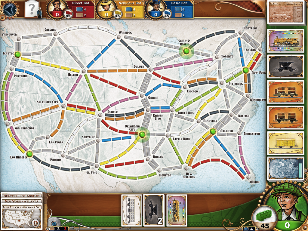 Review: Ticket to Ride on iPad a high.