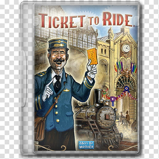 Game Icons , Ticket to Ride transparent background PNG.