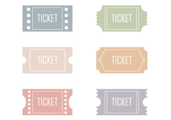 Ticket Vectors.