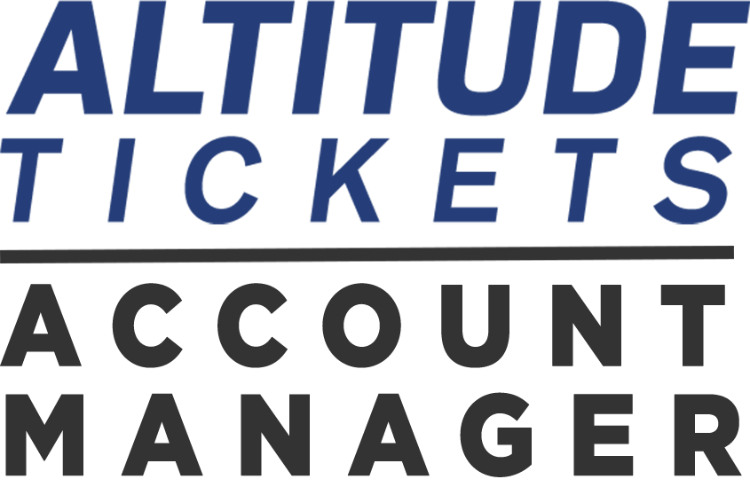 Altitude Tickets Account Manager.