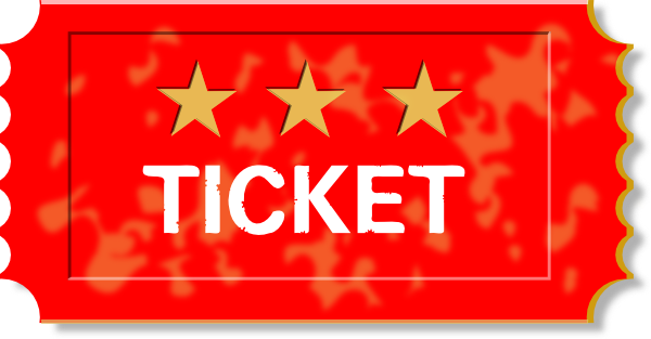 Red Tickets Clipart.