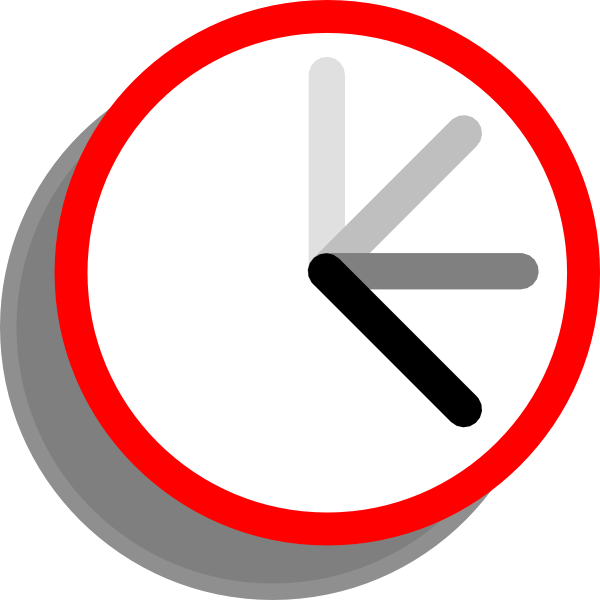 Time Is Ticking Clipart.