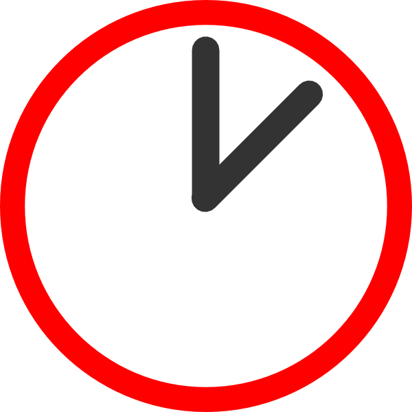 ticking clock clipart - Clipground