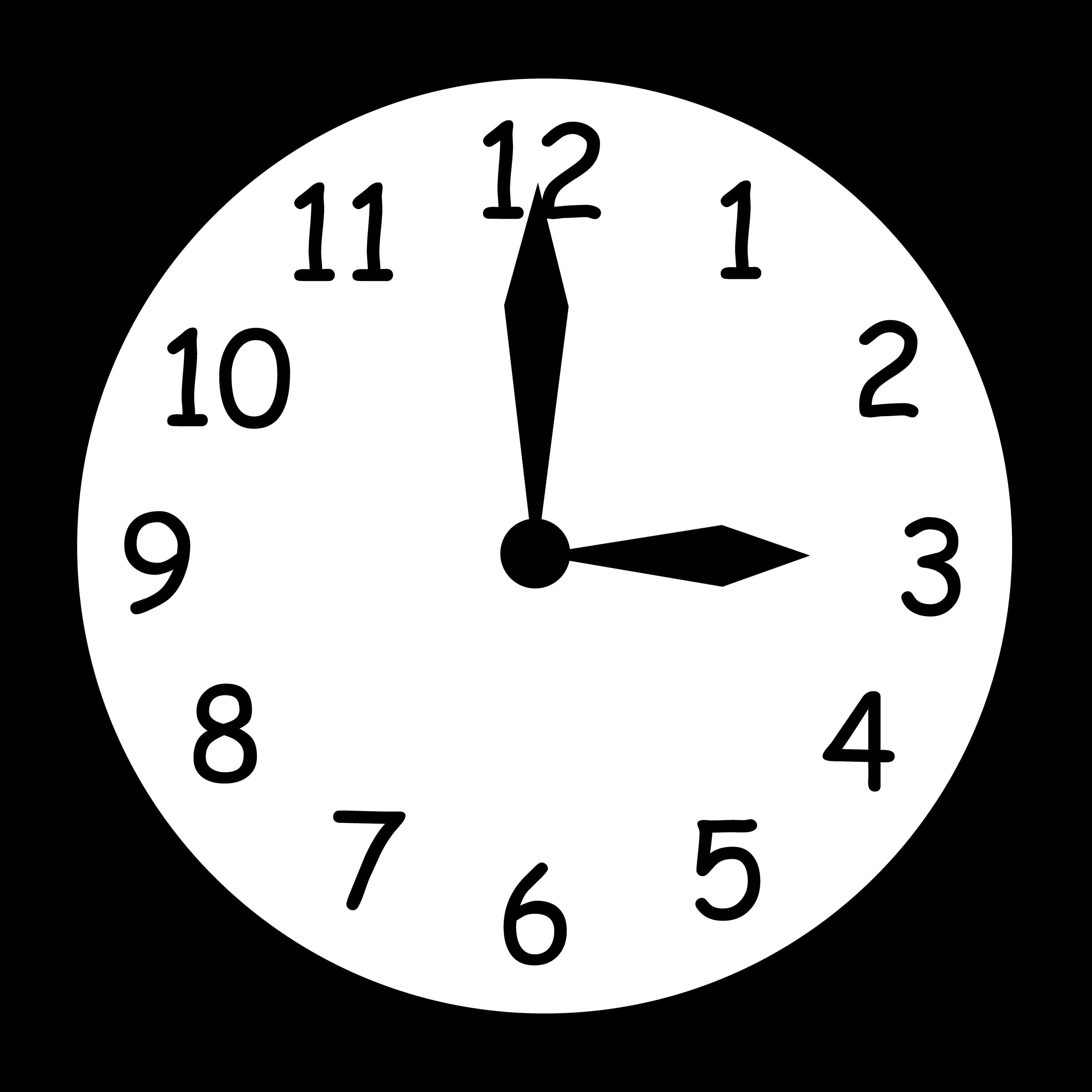 Animated Clock Clip Art.