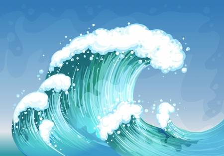 Tidal wave clipart 6 » Clipart Station.