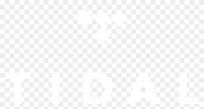 Tidal Logo Png White , Png Download.