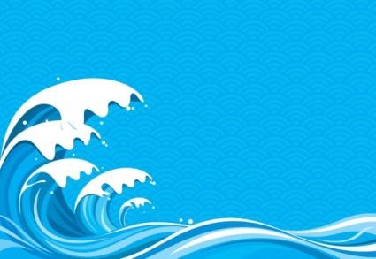 Tidal Wave Clip Art.