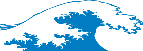 Tidal Wave Splash Clipart.