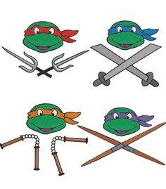 Ninja Turtles Tattoo.