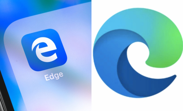 Microsoft Edge\'s Revamped Browser Logo Is Mocked With.