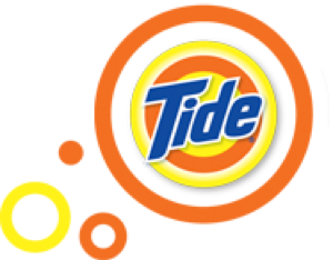 tide bulls eye logo.