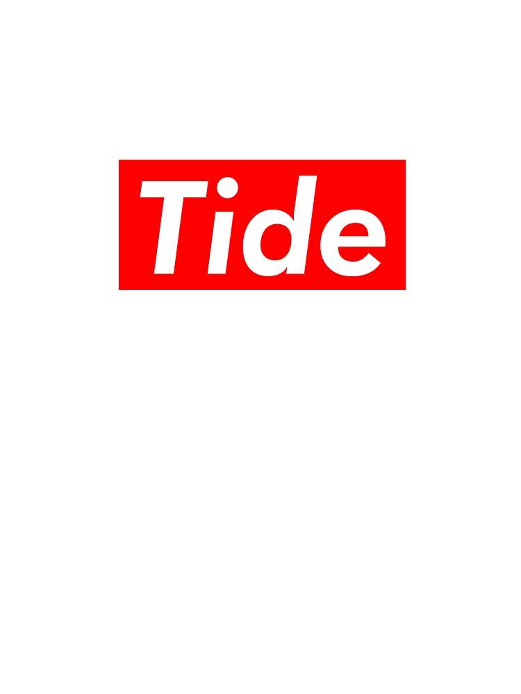 Tide Pod Supreme Box Logo Parody.