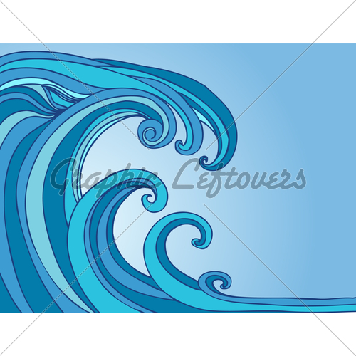 Tidal Wave Clipart.
