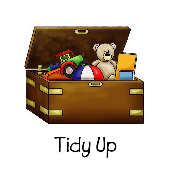 Tidy up.