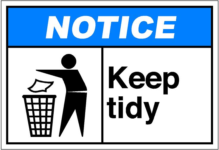 Tidy Clipart.