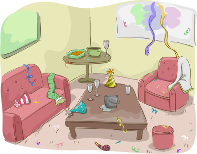 Clean Up Room Clipart.