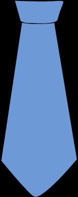 Baby Blue Tie Clipart.