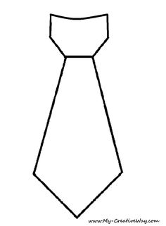 Black and white tie clipart.
