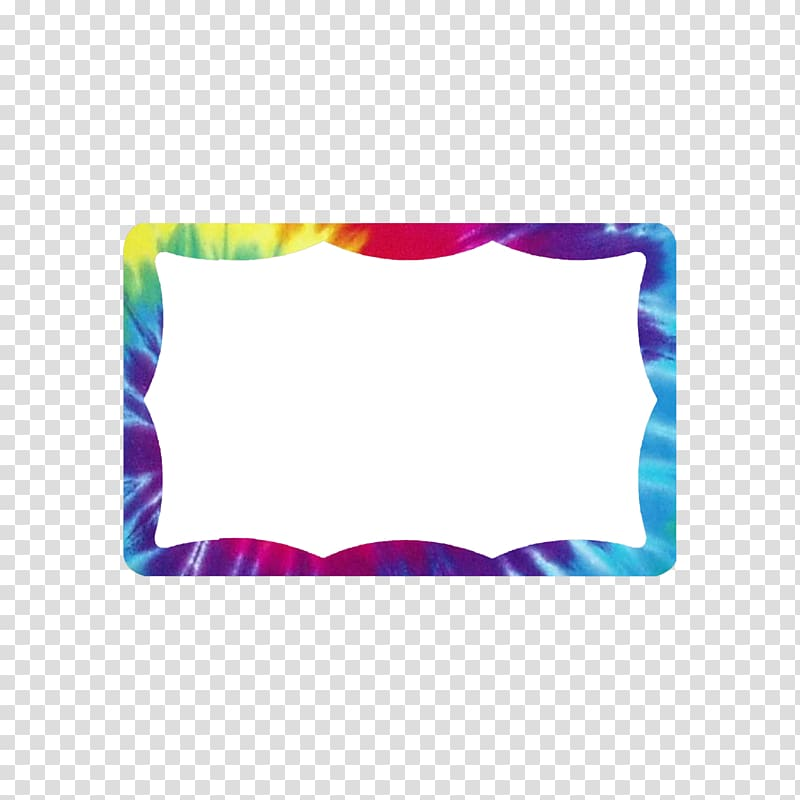 Rectangle, TIE DYE transparent background PNG clipart.