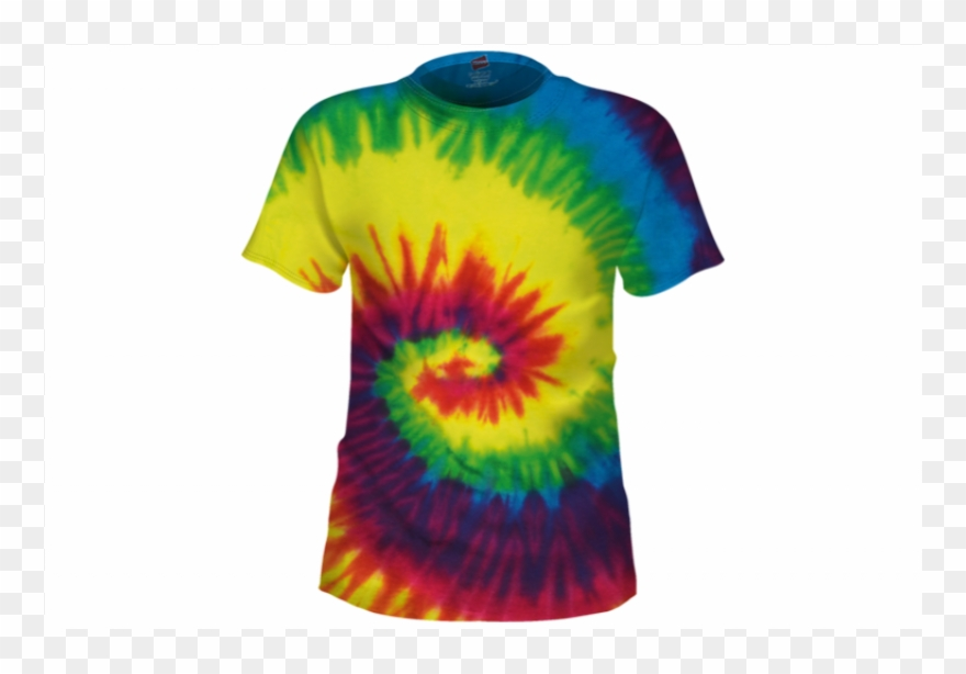 Png Transparent Images Pluspng Rainbow Tiedye Tshirt.