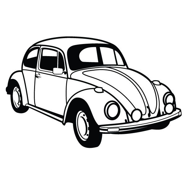 VW Beetle Car Vector by Vectorportal.deviantart.com on.