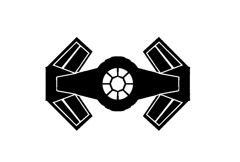 Tie fighter clipart » Clipart Station.