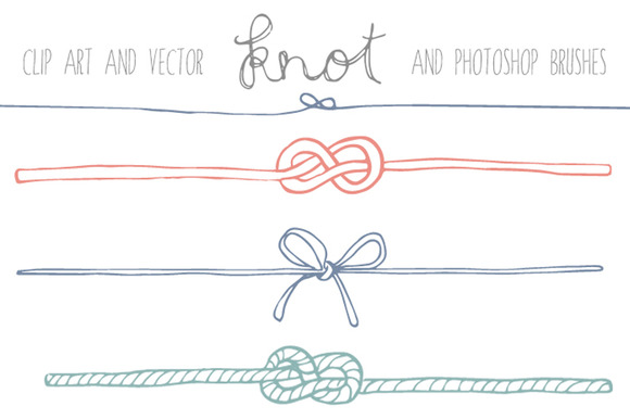 Tie knot clipart #15