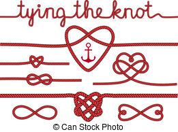 Heart knot clipart.
