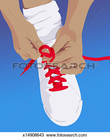 Tying shoes Illustrations and Stock Art. 28 tying shoes.