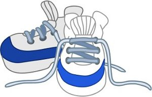 tie shoes clipart clipground