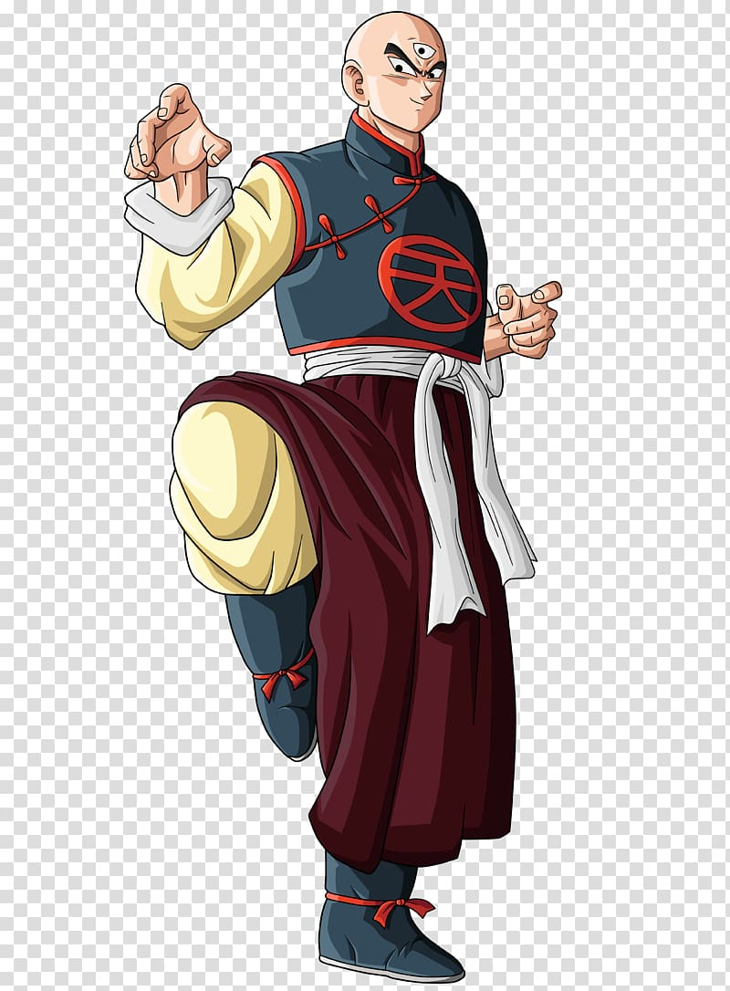 Tien Shinhan Trunks Majin Buu Goku Frieza, goku transparent.