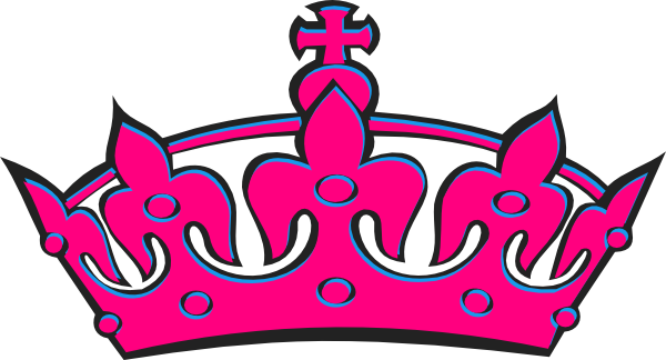 Pink Crown Clipart.