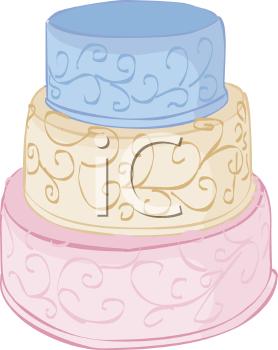 Tiered Wedding Cake.