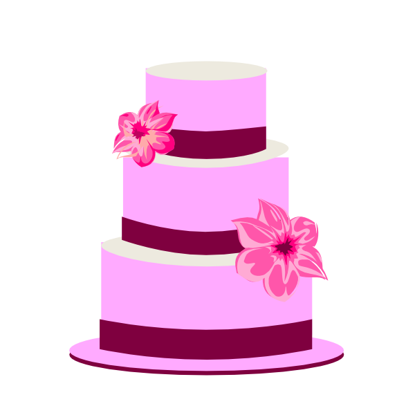Tiered Cake Clip Art at Clker.com.