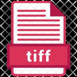 Tiff file Icon.