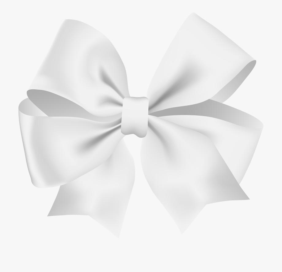 Bow Transparent White, Cliparts & Cartoons.