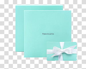 Tiffany Box transparent background PNG cliparts free.