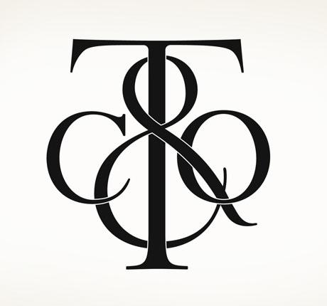 Vintage Tiffany & Co logo.