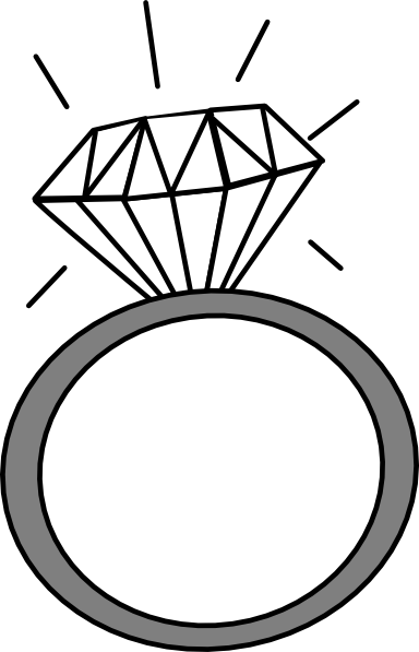Wedding Rings Clipart.